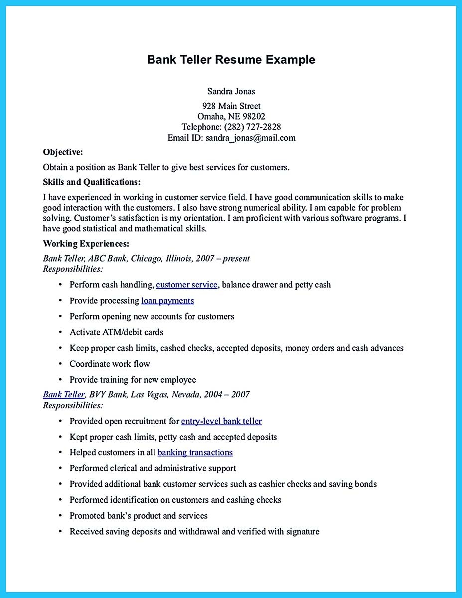 bank resume bullet points october capital one sample banking examples samples and example Resume Capital One Bank Teller Resume Sample