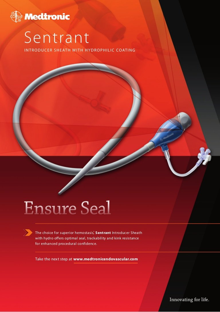 medtronic introducer sheaths for aortic stent grafts system sentrant shop sea lion sheath Resume Introducer Sheath Design Resume Sample