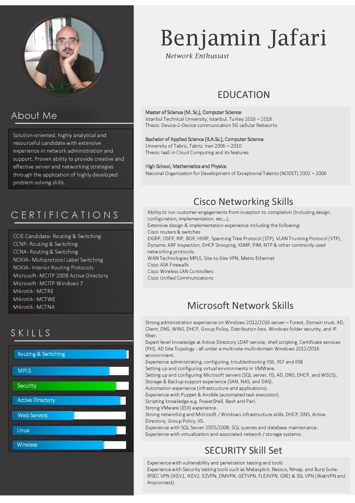 network engineer resume ccie security sample agribusiness for school principal position Resume Ccie Security Resume Sample