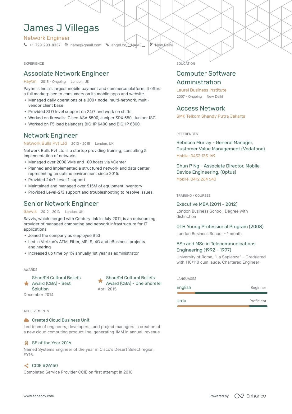 network engineer resume samples with examples ccie security sample agribusiness work for Resume Ccie Security Resume Sample