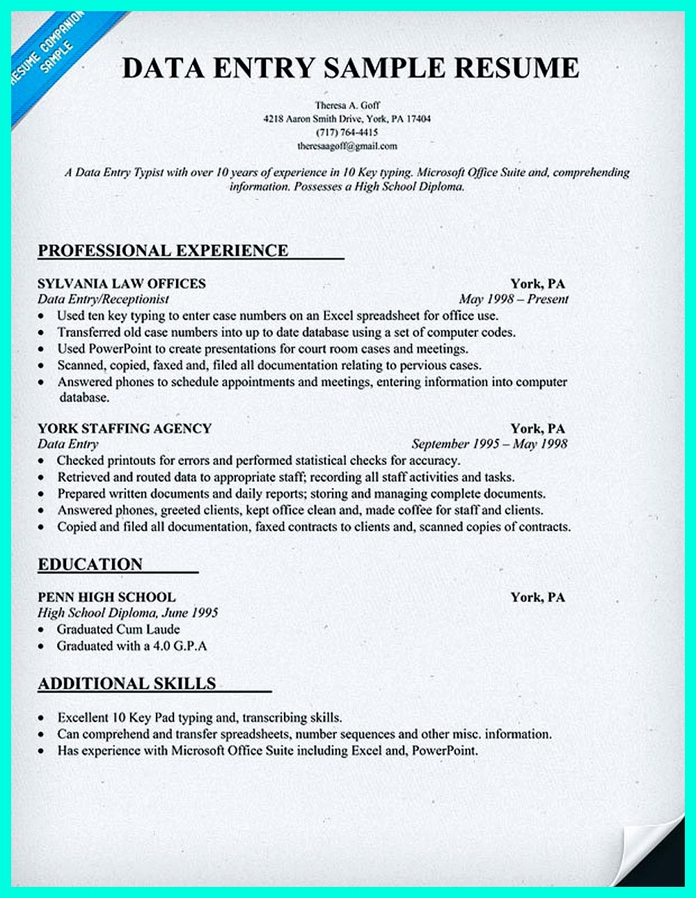 perfect data entry resume samples to get hired examples suite admin sample spa manager Resume G Suite Admin Resume Sample