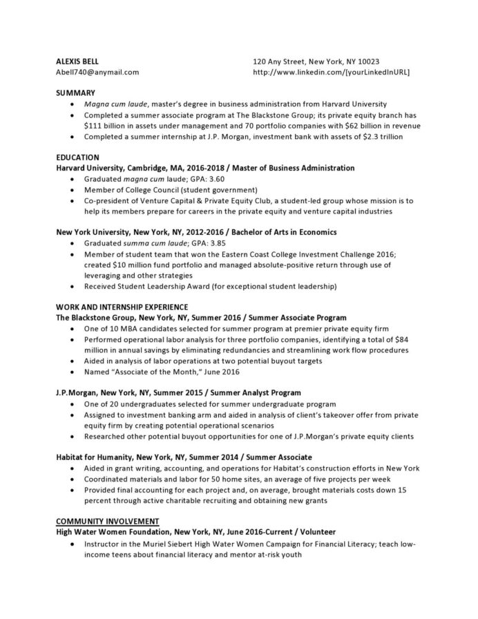 private equity entry level resume samples templates vaultcom communications sample Resume Entry Level Communications Resume Sample