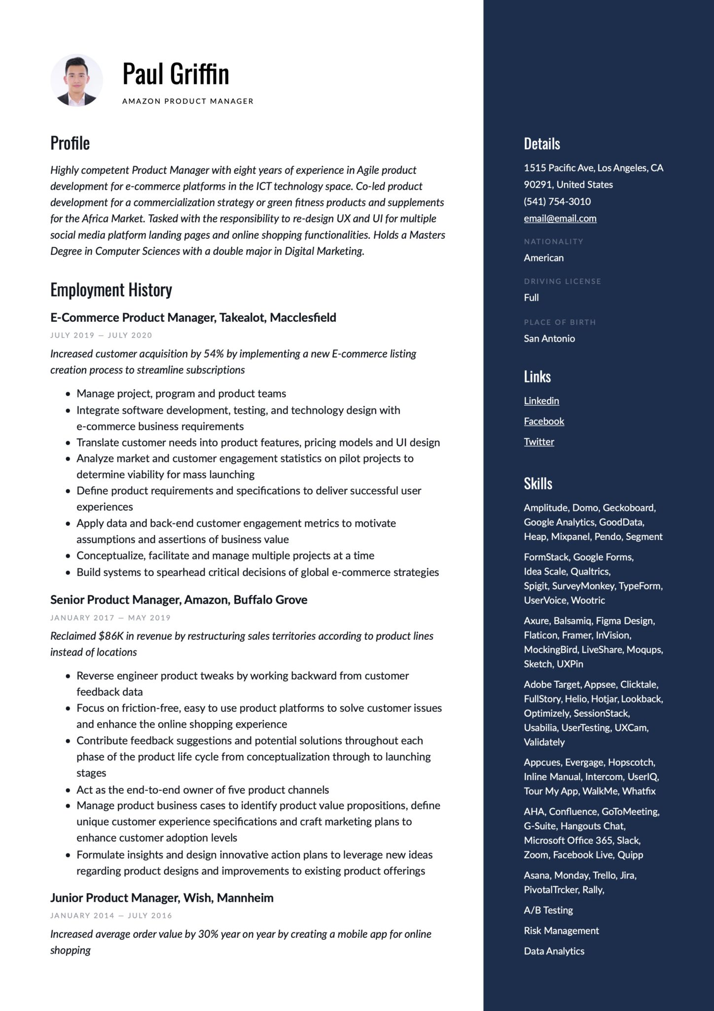 product manager resume guide examples suite admin sample scaled teacher career change Resume G Suite Admin Resume Sample