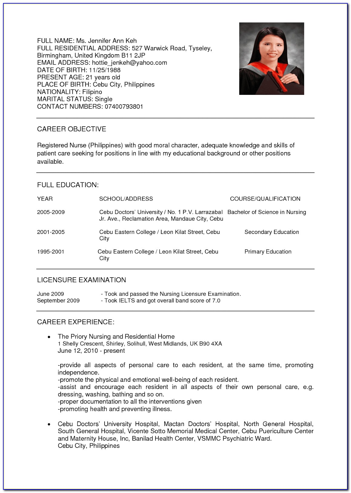 resume format and on the eighth created curriculum vitae hospital cleaning job sample pdf Resume Hospital Cleaning Job Resume Sample Pdf