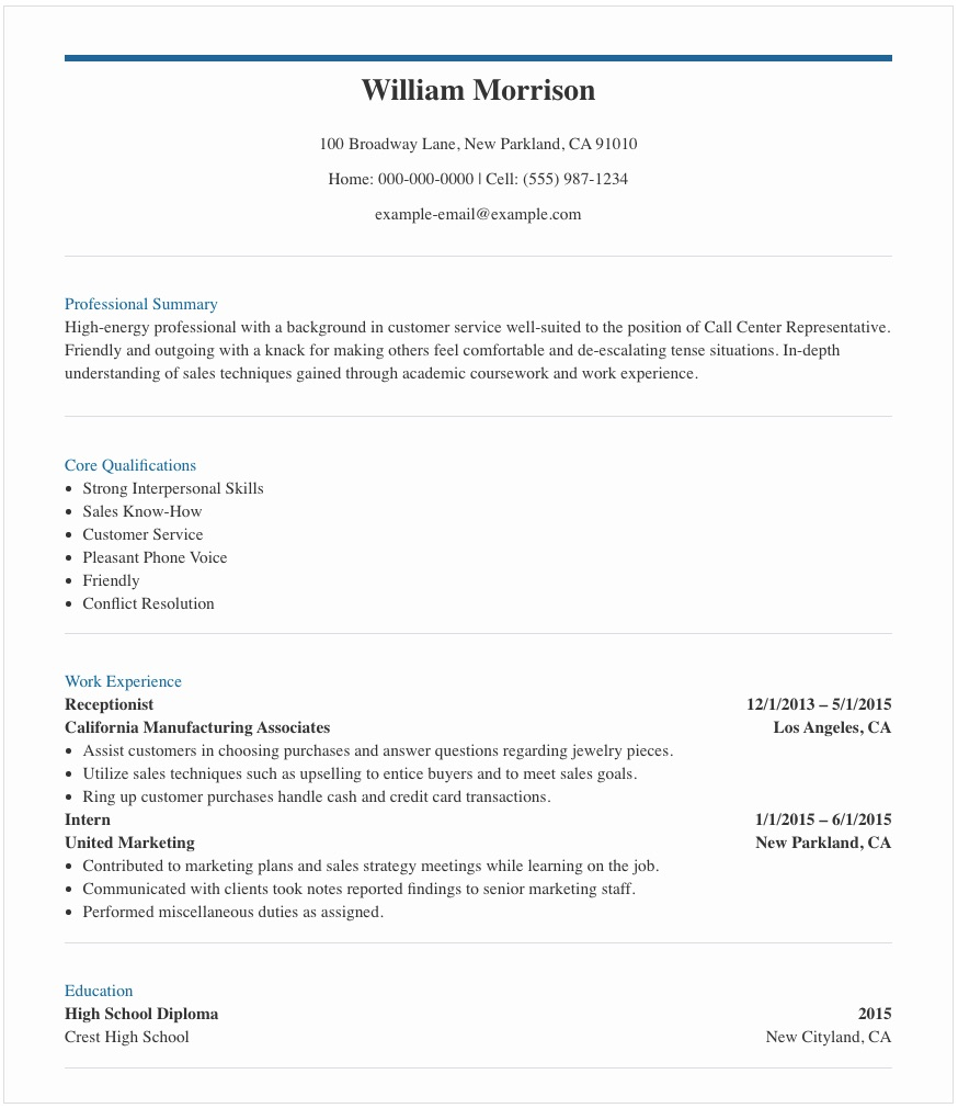 resume samples for call center agent in the sample no experience pongo mechanic examples Resume Resume Sample Call Center Agent No Experience