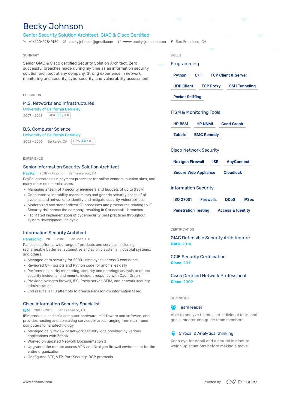 solutions architect resume samples templates guide for ccie security sample senior Resume Ccie Security Resume Sample