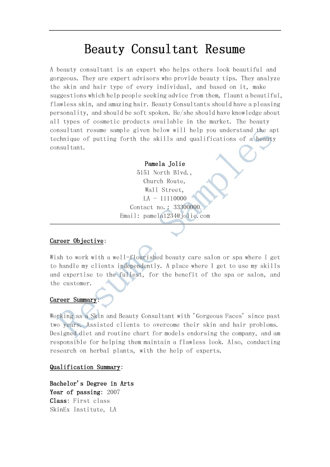 spa consultant resume september tanning sample beauty executive chef chick fil entry Resume Tanning Consultant Resume Sample