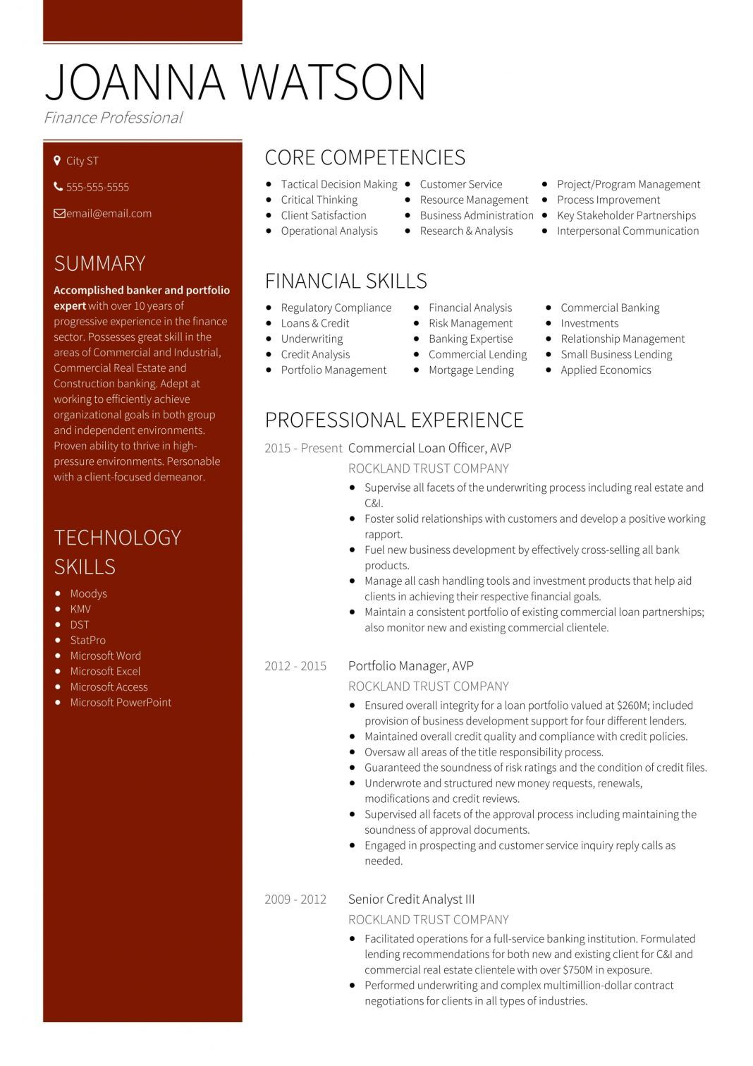 team resume sample in job template commercial banking writing for marketing professionals Resume Commercial Banking Resume Sample