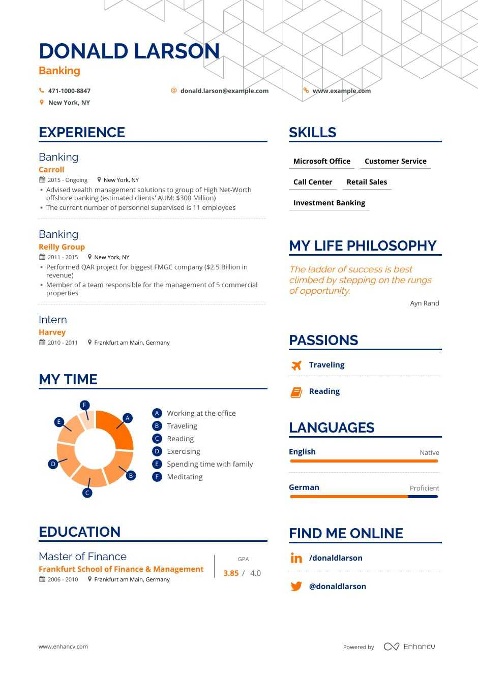 the best banking resume examples skills to get you hired commercial sample currently Resume Commercial Banking Resume Sample