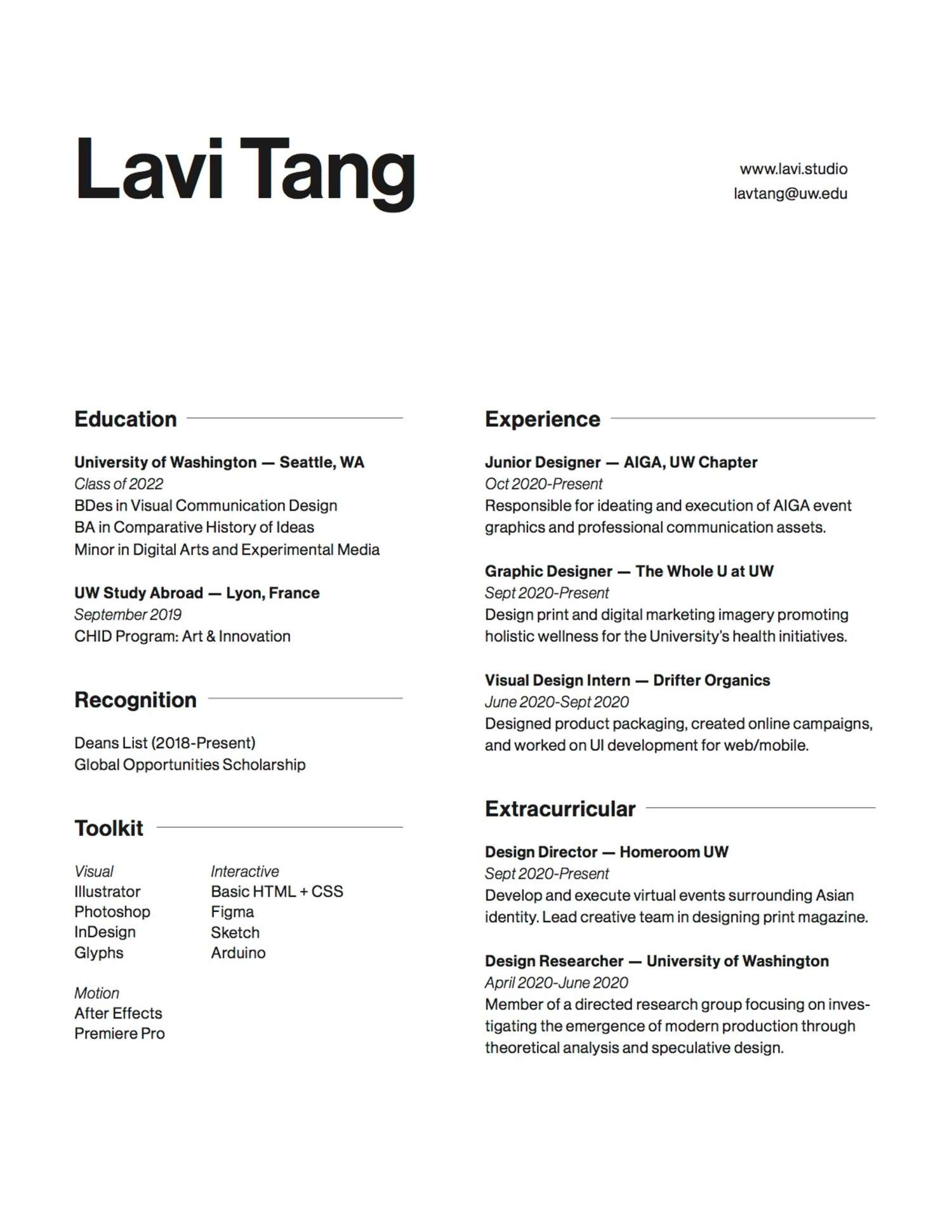 ux designer resumes and template coursera sr web resume sample lavi tang current student Resume Sr Web Designer Resume Sample